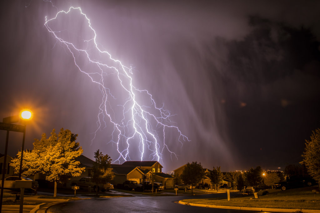 Engineering Specialists, Inc. offers forensic evaluations of all types of lightning strike analysis.