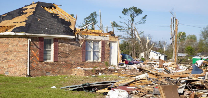 Tornadoes in the Southeastern United States