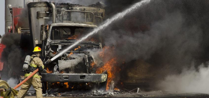 Trash Truck Fires