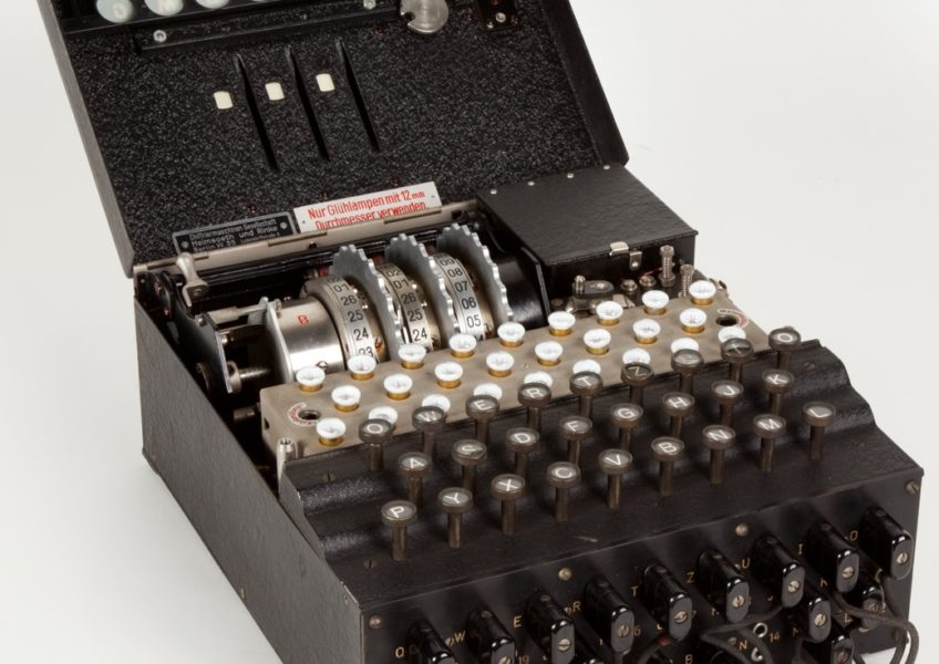 Breaking of the Enigma Machine