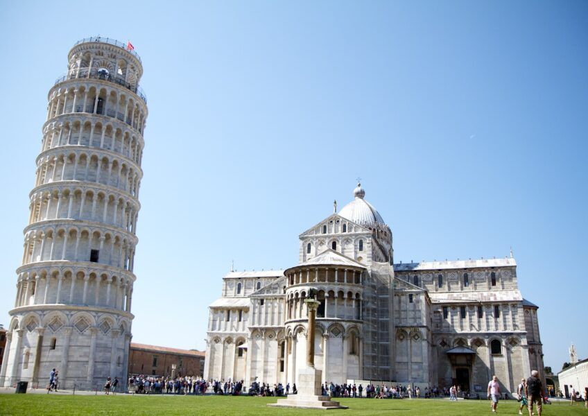 Why the Leaning Tower of Pisa is Tilted