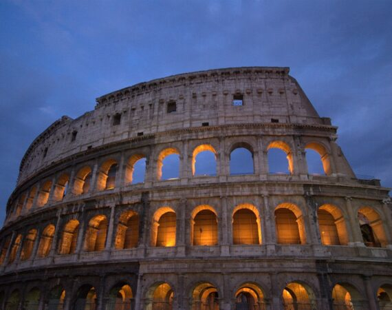 The past and future of the Roman Colosseum
