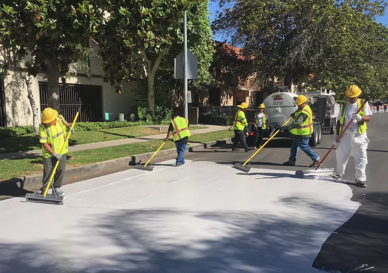 Why are Some Cities Painting their Roads White